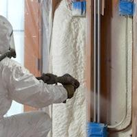 Ứng dụng phun cách nhiệt polyurethane