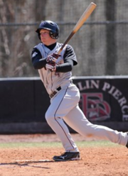 Josh Rouse playing baseball