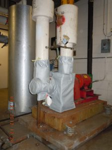 Case Study Removable Insulation Jackets Installed At Wvu