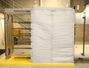 Plate Heat Exchanger Insulation
