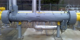 Insulated Shell and Tube Heat Exchanger
