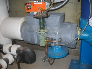 PRV Pressure Reduing Valve after insulation