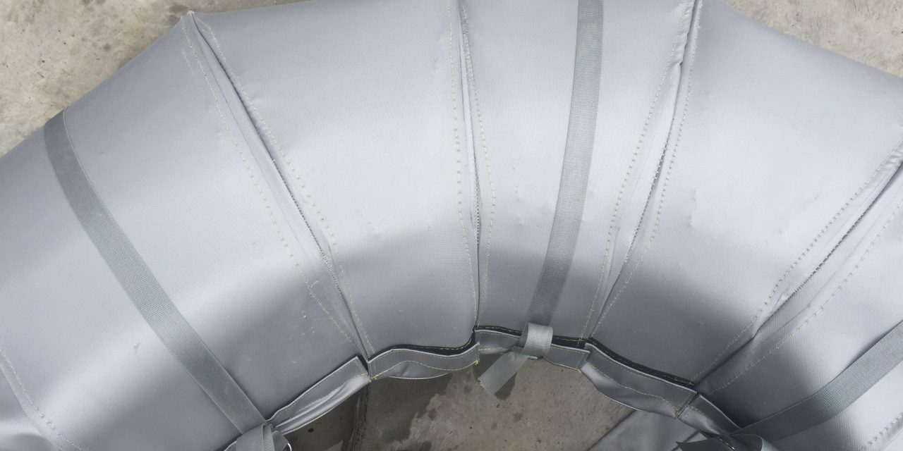 Removable Steam Pipe Insulation Covers