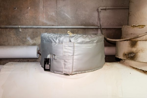Blind Flange Insulated by Thermaxx Jackets