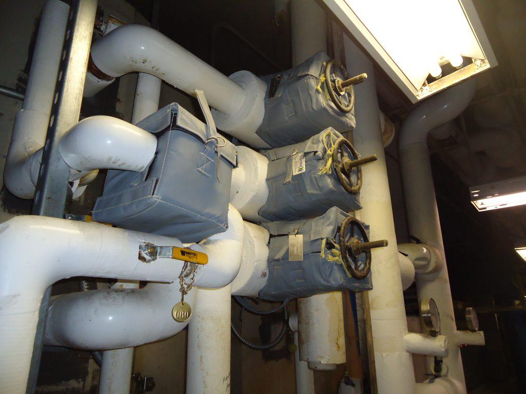 Interchurch insulation jackets