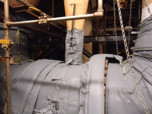 Detail of 125LB. Plug Valve with Insulation Jacket