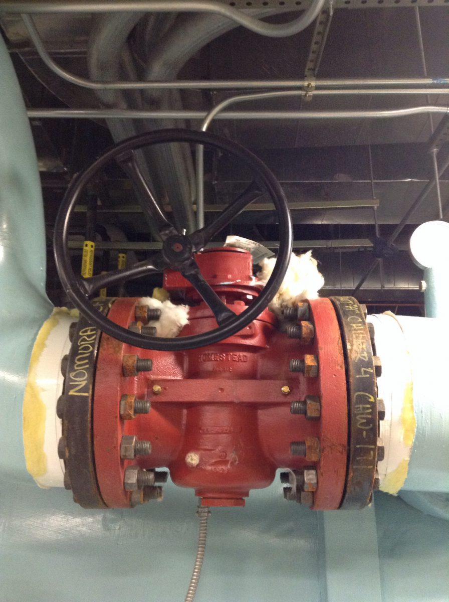 A Bare Plug Valve Wasting Energy
