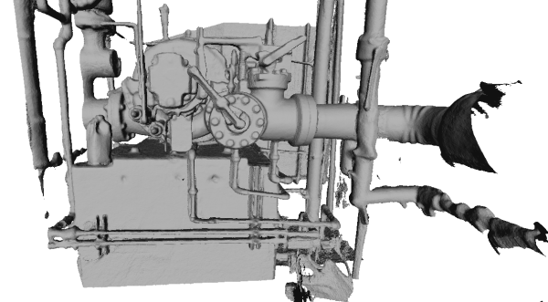 3D Scanner rendering