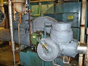 insulated turbine