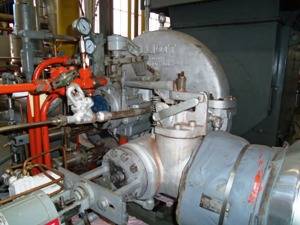 uninsulated turbine