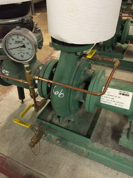 A Bare Condensation Pump