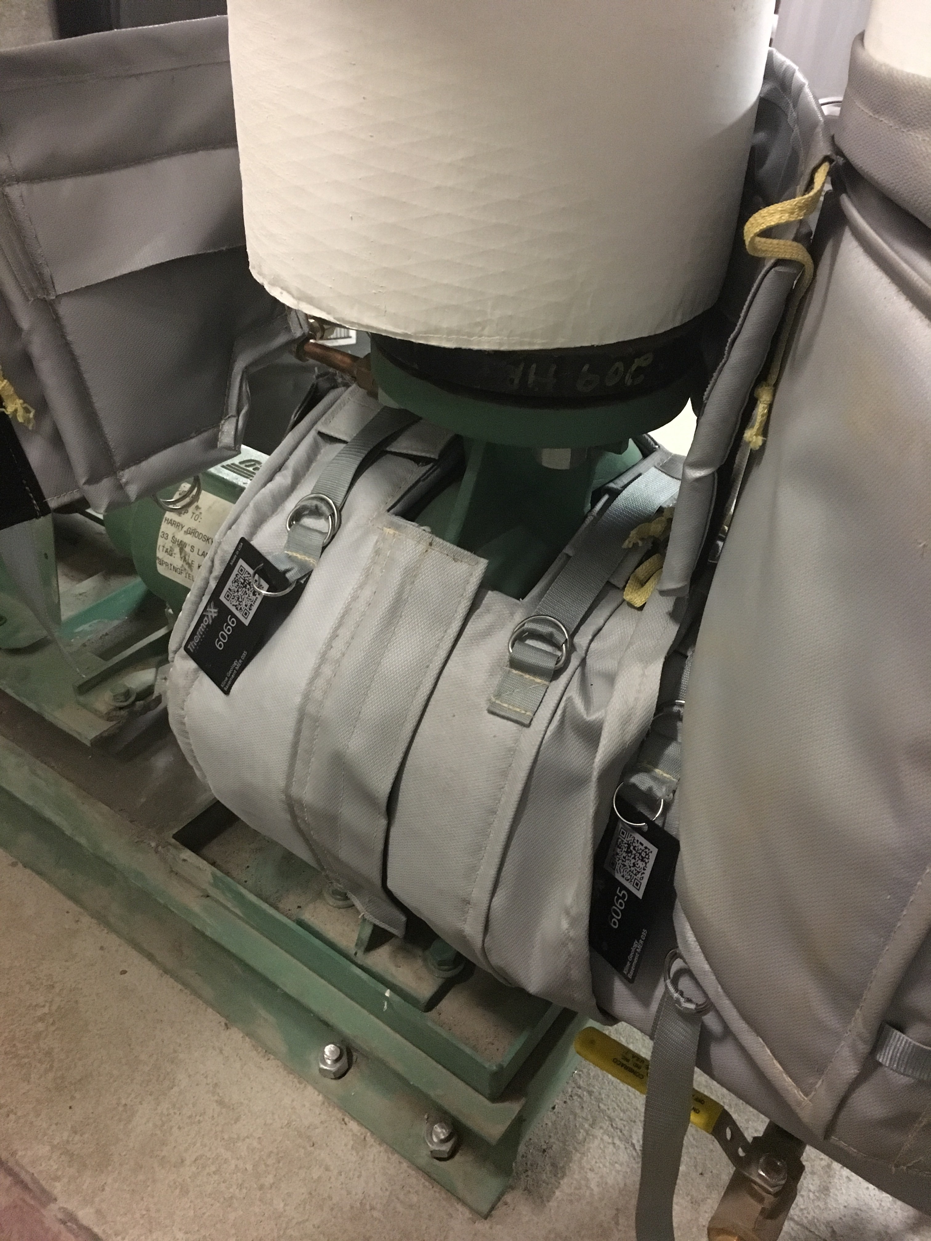 Removable Condensate Pump Insulation Jackets