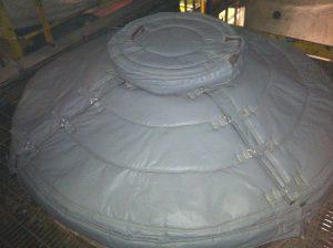 Cargill Salt Heat Exchanger Head with Thermaxx Custom Insulation