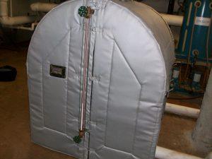 JMU Condensate Tank After Insulating
