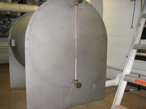 JMU Condensate Tank Before Insulating