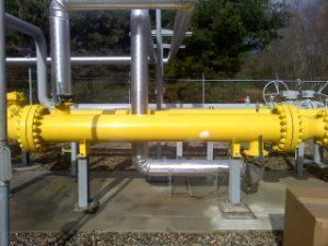Yankee Gas Heat Exchanger Before Insulating