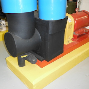 Brooks Hall Insulated Steam Component