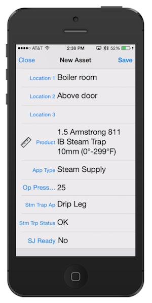 Thermaxx App- Add a location