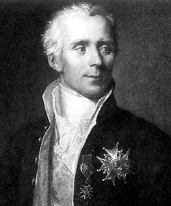 Pierre Simon Laplace Portrait