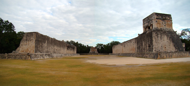 Chichen Itza Ballcourt