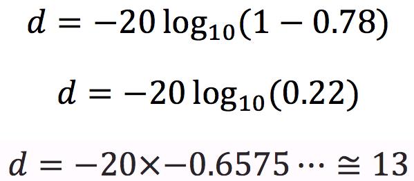 A few mathematical equations