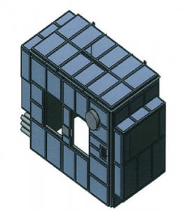 CAD drawing of sulfur recovery unit