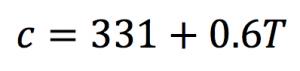 A mathematical equation