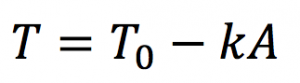 A math equation
