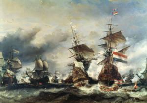 Navy fighting in World War 1