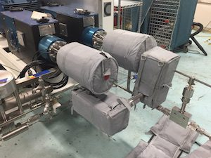Cryogenic Liquid Helium Pump Insulated