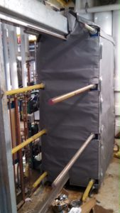 An Insulated Plate and Frame Heat Exchanger