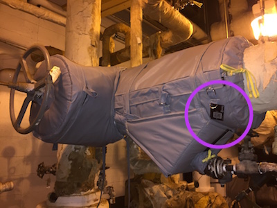 Insulation jacket with Slate Tag