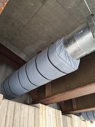 Insulation Jacket Under Bridge