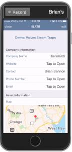 iOS smart tag app