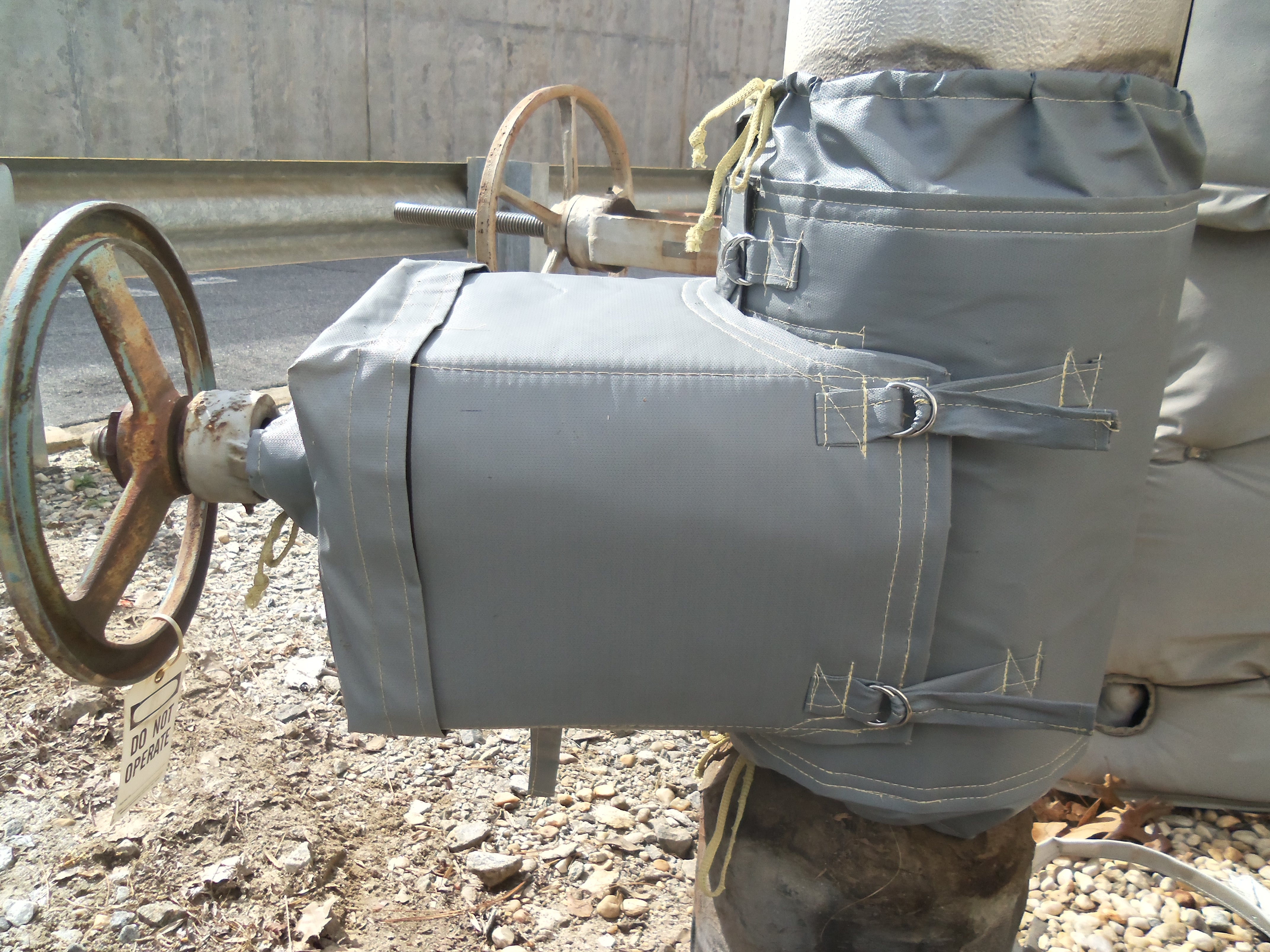 Exterior Valve Insulated by Thermaxx Jackets