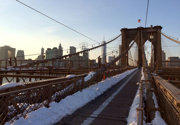 Freezing New York City