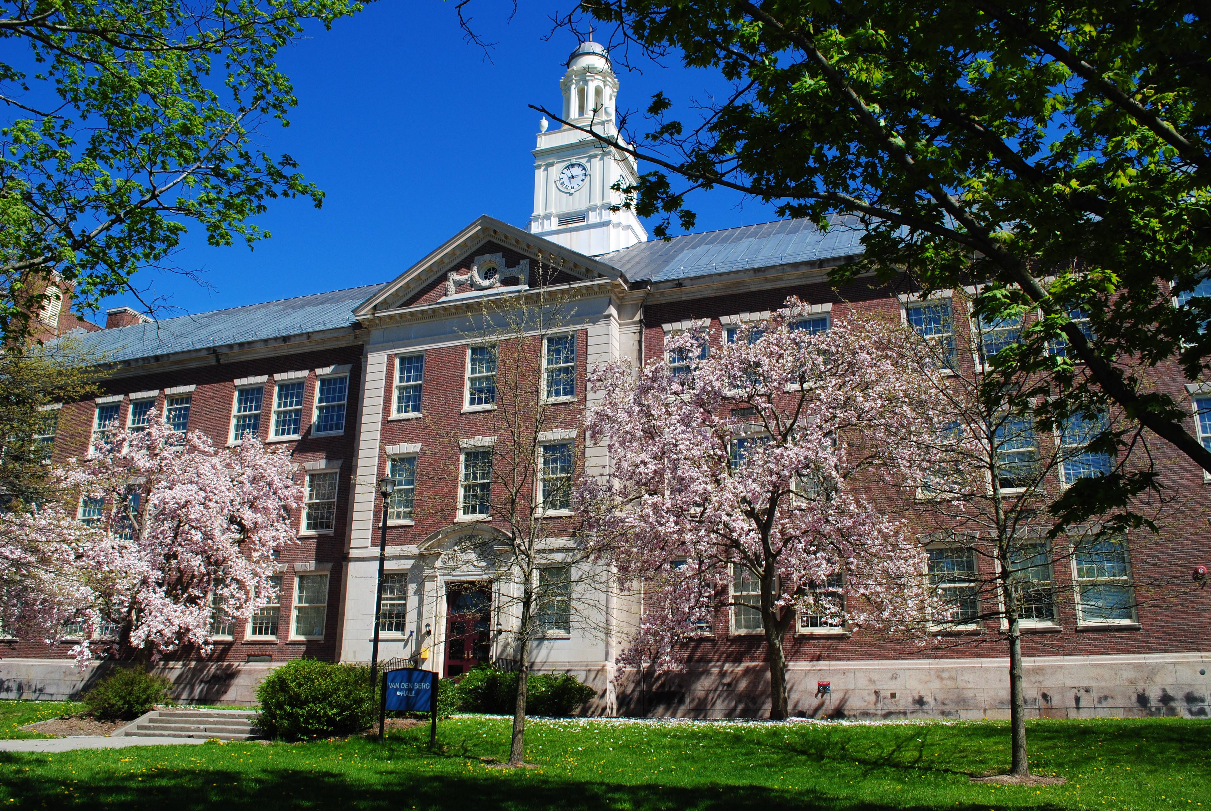 Van Den Berg Hall, SUNY New Paltz Campus