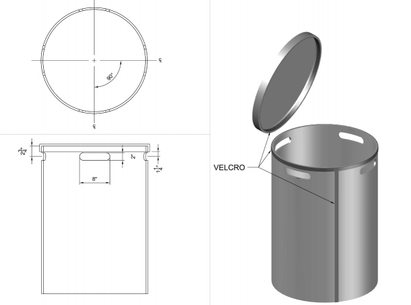 Barrel Heating Insulation Jacket Component