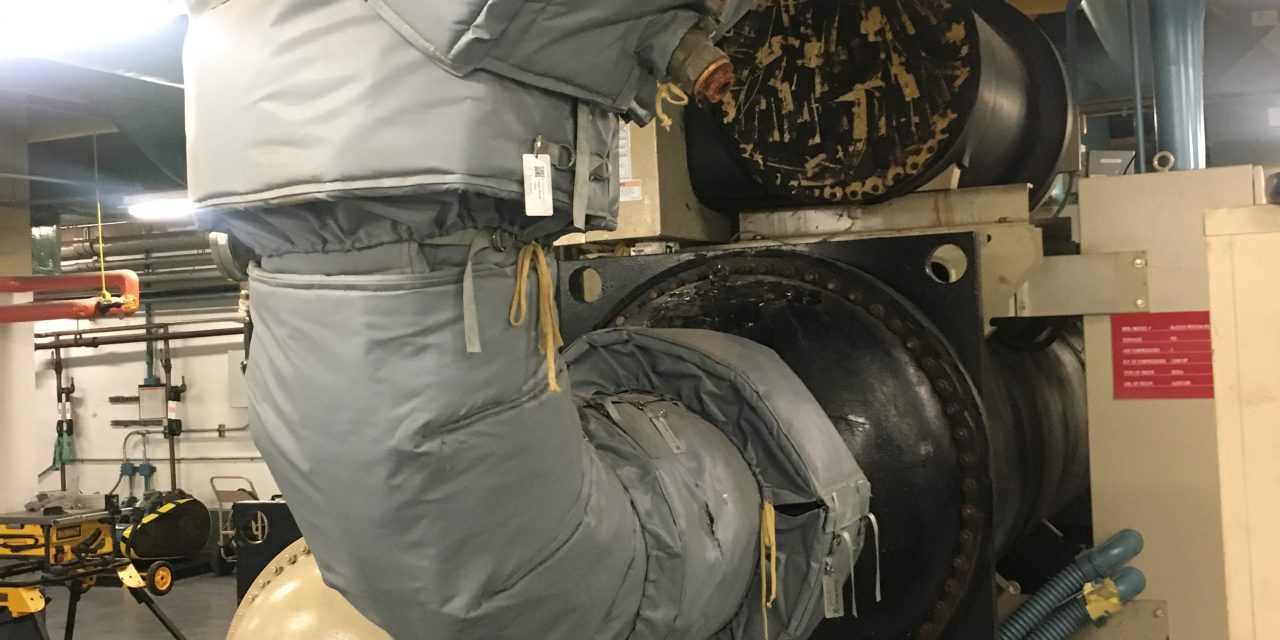 Chiller Insulation Blankets - Thermaxx Jackets