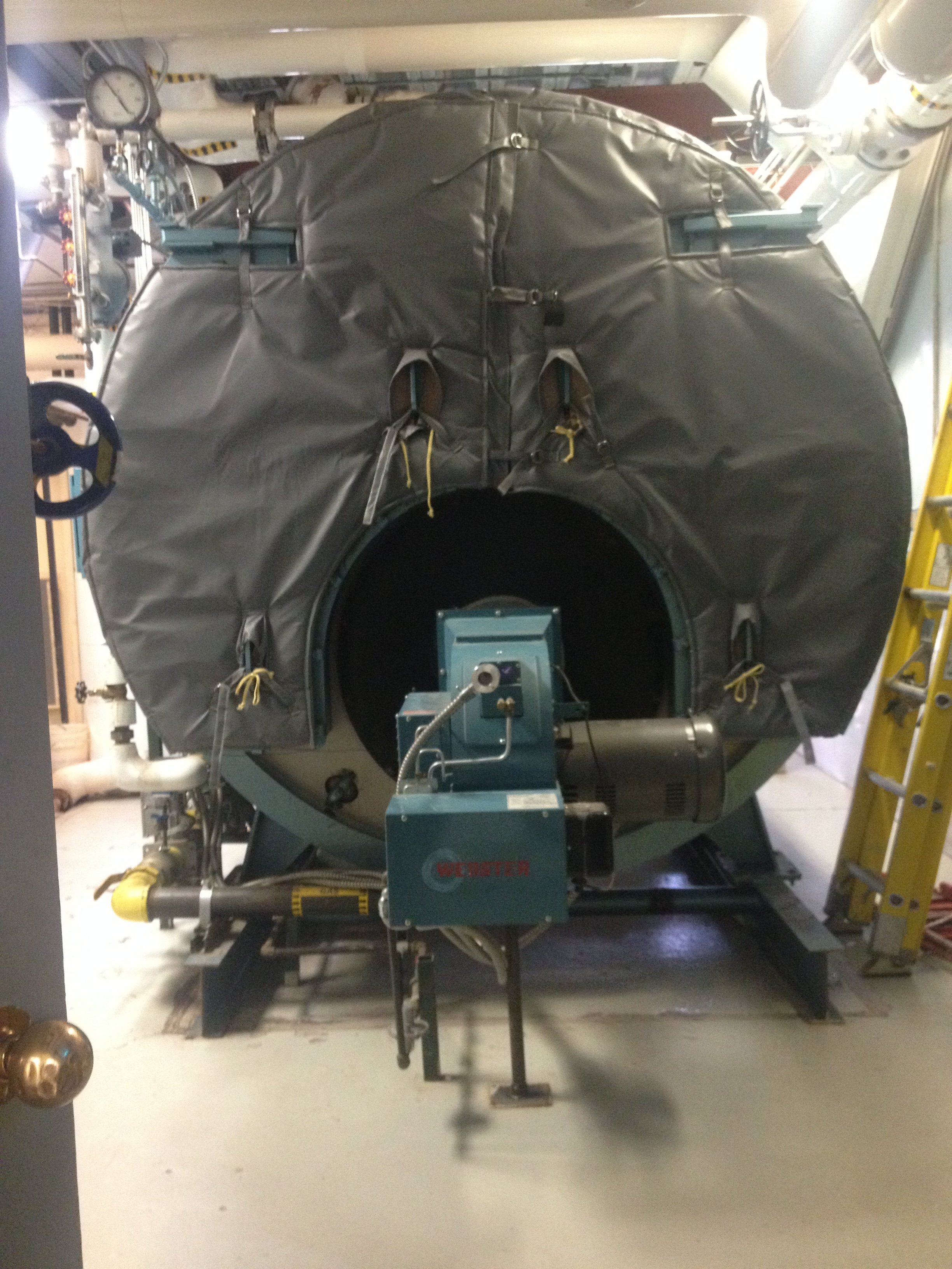 Removable Insulation for Oil-Fired Boilers - Thermaxx Jackets