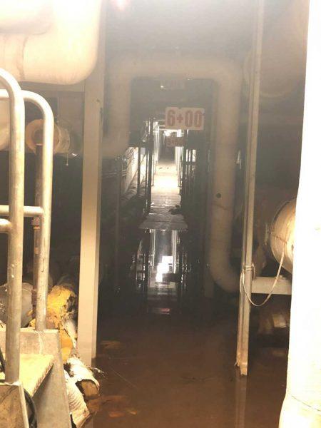 Flooded Steam Tunnel