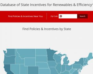 Database of State Incentives for Renewables and Efficiency (DSIRE)