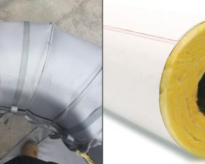 side by side comparison of removable insulation vs conventional pipe insulation