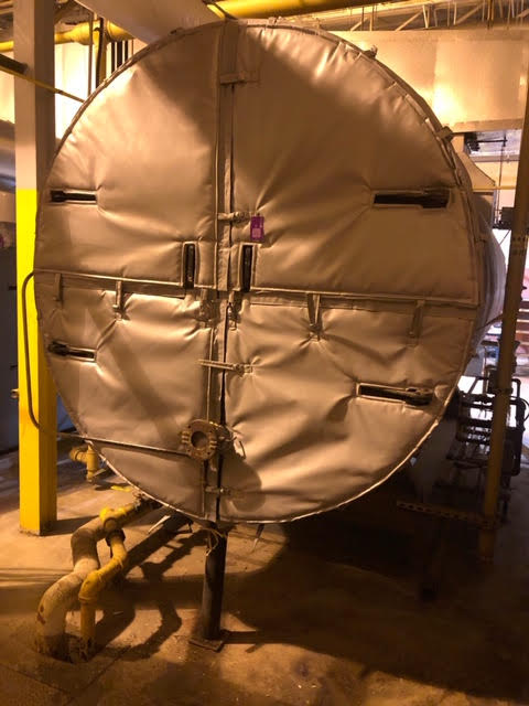 insulated boiler