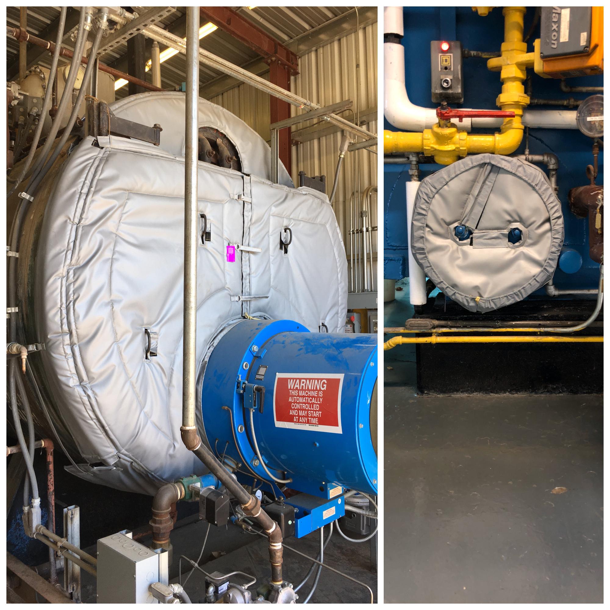 boiler insulation blankets